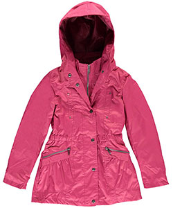 "Yoki Big Girls' ""Rainslicked"" Jacket (Sizes 7 – 16) - CookiesKids.com"