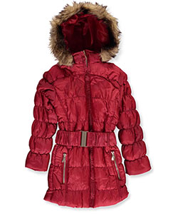 Yoki Little Girls' Insulated Parka (Sizes 4 – 6X) - CookiesKids.com