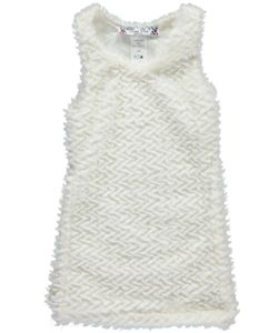 "Mini Me Baby Girls' ""Zigzag Plush"" Jumper - CookiesKids.com"