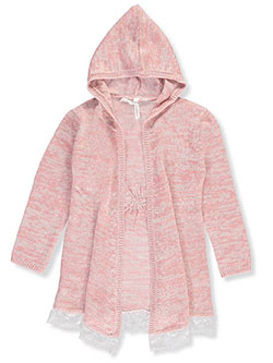 Love At First Sight Little Girls' Toddler Hooded Cardigan (Sizes 2T – 4T) - CookiesKids.com