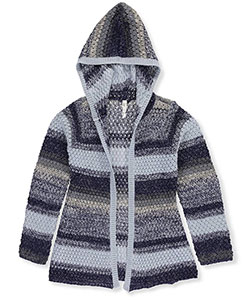 Love At First Sight Little Girls' Hooded Cardigan (Sizes 4 – 6X) - CookiesKids.com