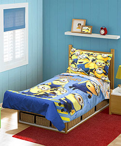Despicable Me 4-Piece Toddler Bedding Set - CookiesKids.com