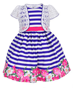 Nannette Girls' 2-Piece Dress Set - CookiesKids.com