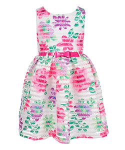 Nannette Girls' Belted Dress - CookiesKids.com