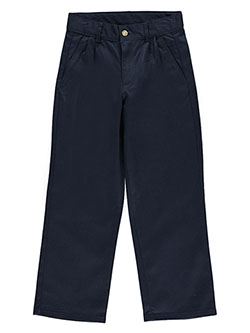 Nautica Big Boys' Pleated Twill Pants (Sizes 8 - 20) - CookiesKids.com