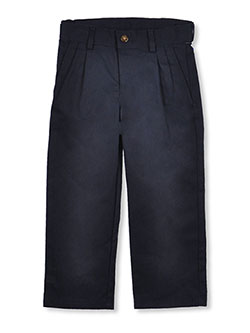 Nautica Little Boys' Pleated Twill Pants (Sizes 4 - 7) - CookiesKids.com