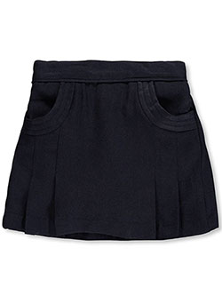 "Nautica Little Girls' Toddler ""Stitched Pocket"" Scooter Skirt (Sizes 2T – 4T) - CookiesKids.com"