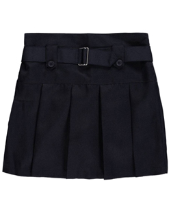 Nautica Big Girls' Belted Scooter Skirt (Sizes 7 - 16) - CookiesKids.com