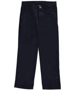 "Nautica Little Boys' ""Double Knee"" Flat Front Twill Pants (Sizes 4 – 7) - CookiesKids.com"