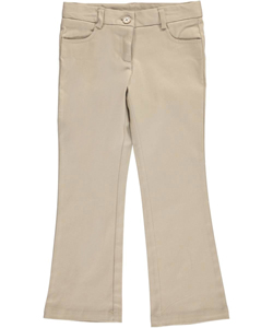 Nautica Little Girls' Skinny Bootcut Pants (Sizes 4 - 6X) - CookiesKids.com