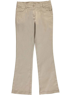 Nautica Big Girls' Skinny Bootcut Pants (Sizes 7 - 16) - CookiesKids.com