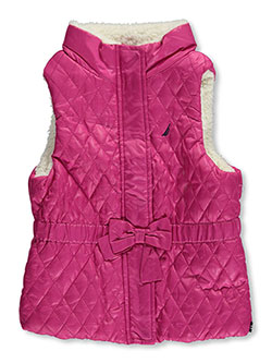 "Nautica Little Girls' Toddler ""Keep Quilted"" Insulated Vest (Sizes 2T – 4T) - CookiesKids.com"