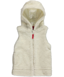 "Nautica Little Girls' Toddler ""Snow Soft"" Hooded Vest (Sizes 2T – 4T) - CookiesKids.com"