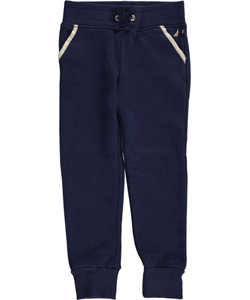 "Nautica Big Girls' ""Gilded Outline"" Joggers (Sizes 7 – 16) - CookiesKids.com"