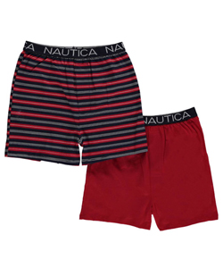 "Nautica Big Boys' ""Bold & Multi-Stripe"" 2-Pack Boxer Briefs (Sizes 8 – 20) - CookiesKids.com"