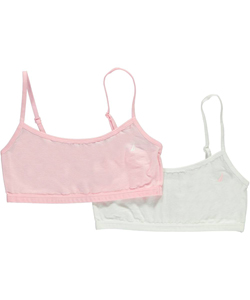 "Nautica Big Girls' ""Classic"" 2-Pack Bralettes (Sizes 7 – 16) - CookiesKids.com"