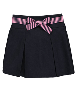 "Nautica Little Girls' ""Grosgrain Bow"" Scooter Skirt (Sizes 4 – 6X) - CookiesKids.com"