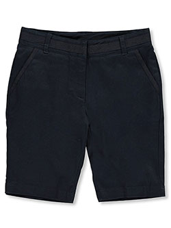 "Nautica Big Girls' ""Grosgrain Trim"" Skinny Bermuda Shorts (Sizes 7 – 16) - CookiesKids.com"