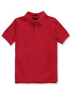 Nautica Boys School Uniform Short Sleeve Pique Polo Polo Shirt