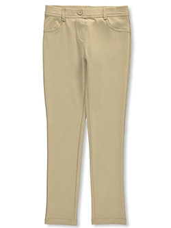 "Nautica Big Girls' ""Skinny Stretch"" Jeggings (Sizes 7 – 16) - CookiesKids.com"