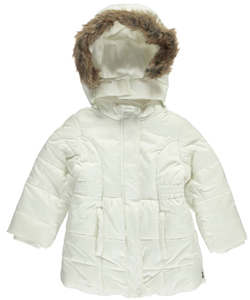 "Nautica Baby Girls' ""Mashauwomuk"" Insulated Jacket - CookiesKids.com"