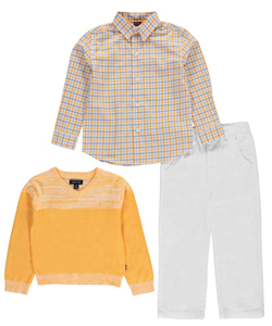 "Nautica Little Boys' Toddler ""Strafford"" 3-Piece Outfit (Sizes 2T – 4T) - CookiesKids.com"