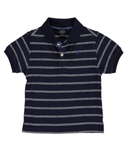 "Nautica Baby Boys' ""Dashing Around"" Knit Polo - CookiesKids.com"