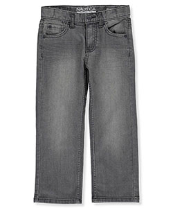 "Nautica Little Boys' ""Starboard"" Straight Fit Jeans (Sizes 4 – 7) - CookiesKids.com"