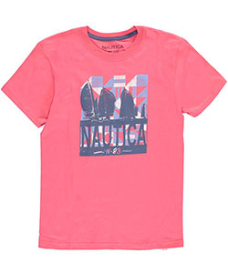 "Nautica Little Boys' ""83 Sails"" T-Shirt (Sizes 4 – 7) - CookiesKids.com"