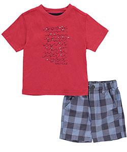 "Nautica Baby Boys' ""Wave Breaks"" 2-Piece Outfit - CookiesKids.com"