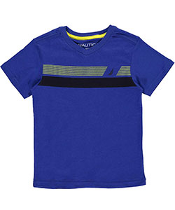 "Nautica Little Boys' ""Bold Sails"" T-Shirt (Sizes 4 – 7) - CookiesKids.com"