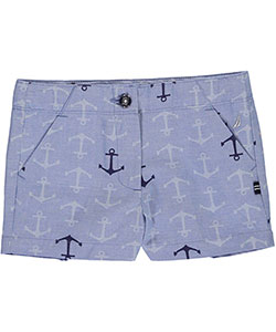 "Nautica Little Girls' Toddler ""On the Pier"" Short Shorts (Sizes 2T – 4T) - CookiesKids.com"
