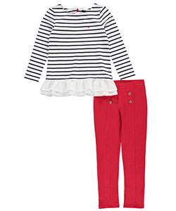 "Nautica Big Girls' ""Come Ashore"" 2-Piece Outfit (Sizes 7 – 16) - CookiesKids.com"