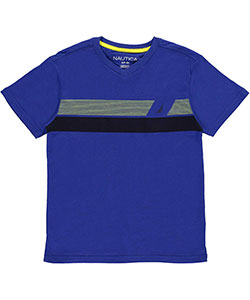 "Nautica Big Boys' ""Bold Sails"" T-Shirt (Sizes 8 – 20) - CookiesKids.com"