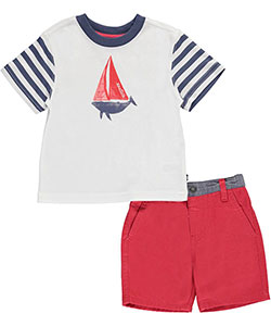 "Nautica Baby Boys' ""Big Catch"" 2-Piece Outfit - CookiesKids.com"