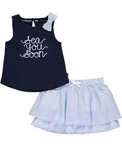 "Nautica Baby Girls' ""See You Soon"" 2-Piece Outfit - CookiesKids.com"