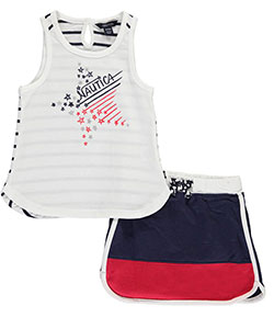 "Nautica Baby Girls' ""On the Court"" 2-Piece Outfit - CookiesKids.com"