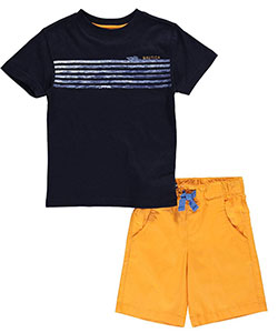 "Nautica Little Boys' Toddler ""Crashing Waves"" 2-Piece Outfit (Sizes 2T – 4T) - CookiesKids.com"