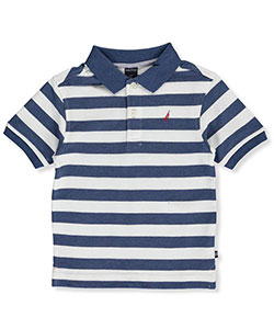"Nautica Little Boys' Toddler ""Shane"" Pique Polo (Sizes 2T – 4T) - CookiesKids.com"