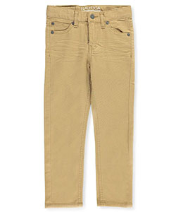 "Nautica Little Boys' ""Open Plains"" Stretch Skinny Pants (Sizes 4 – 7) - CookiesKids.com"