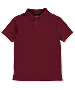 Nautica Big Boys' S/S Moisture Wicking Performance Polo (Sizes 8 – 20) - CookiesKids.com