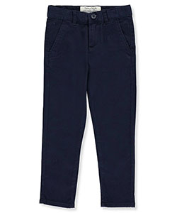 Nautica Little Boys' Athletic Fit Stretch Chino Pants (Sizes 4 – 7) - CookiesKids.com