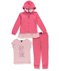 Nautica Big Girls' 3-Piece Outfit (Sizes 7 – 16) - CookiesKids.com