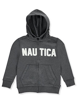 Nautica Big Boys' Fleece Hoodie (Sizes 8 – 20) - CookiesKids.com