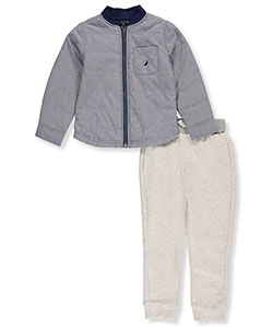 Nautica Little Boys' Toddler 2-Piece Outfit (Sizes 2T – 4T) - CookiesKids.com