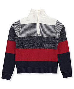 Nautica Big Boys' Knit Sweater (Sizes 8 – 20) - CookiesKids.com
