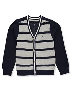 Nautica Big Boys' Cardigan (Sizes 8 – 20) - CookiesKids.com