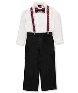Nautica Little Boys' 2-Piece Outfit with Accessories (Sizes 4 – 7) - CookiesKids.com