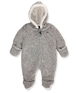 Nautica Baby Boys' Hooded Pram Suit - CookiesKids.com