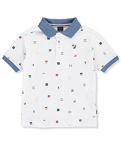 Nautica Little Boys' Toddler Polo (Sizes 2T – 4T) - CookiesKids.com